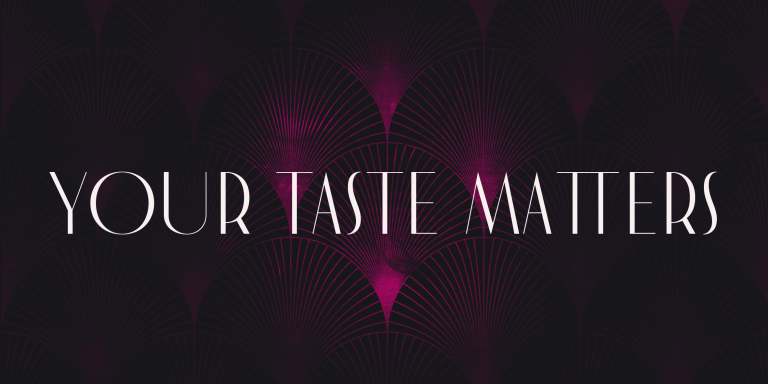 quote taste matters design king eve